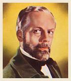Paul Muni, as Louis Pasteur