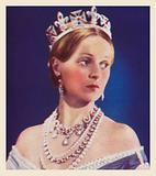 Pamela Stanley, as Queen Victoria