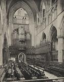 Ripon Quire looking west, stallwork, 1490