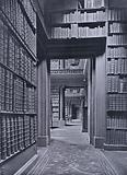 Eton College: College Library, looking east