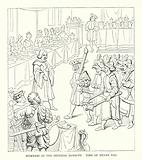 Mummers at the Imperial Banquet, Time of Henry VIII