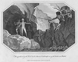 The apprehending the Rebel leaders, Harvey and Colclough among the Rocks near Wexford