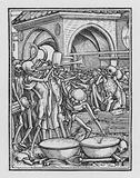 Holbein's Dance of Death: A Cemetery