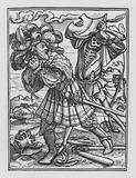 Holbein's Dance of Death: The Count
