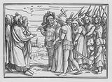 The Midianites Spoiled, and Balaam Slain, Numbers XXXI, 9