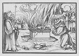 Elijah Praying, is Answered by Fire from Heaven, 1 Kings XVIII, 38