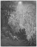 Gustave Dore Bible: Jacob's dream