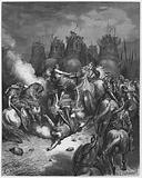 Gustave Dore Bible: The punishment of Antiochus