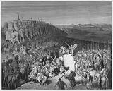 Gustave Dore Bible: Jonathan in the presence of the army of Apollonius