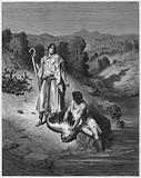 Gustave Dore Bible: Tobias and the Angel