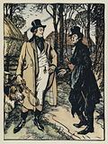 Illustration for Tennyson's Maud