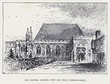 Ely House, London, The Old Hall, demolished