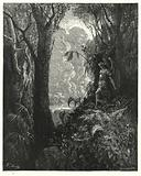 Illustration by Gustave Dore for Milton's Paradise Lost, Book IV, line 247