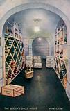 The Queen's Dolls' House: Wine Cellar
