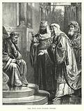 The Wise Men before Herod