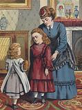 The Little Girl Who Was Unkind To Her Sister