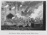 Sir Thomas Wyat attacking the By Ward Tower