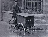 First Basket Carrier Tricycle, 1897