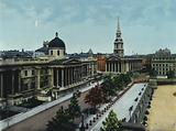 The National Gallery and St Martin's Church