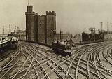 Newcastle Upon Tyne: Railway Crossings and the Castle