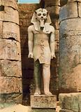 Luxor, the Statue of Rameses IInd, 19th Dynasty, 1300 BC