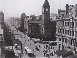 Swanston Street, Melbourne, looking North