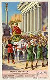 Octavian's triumph, Rome, 29 BC