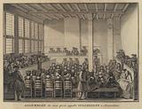 Meeting of Collegiants in Amsterdam, Netherlands
