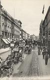 London, New Oxford Street, horse drawn buses