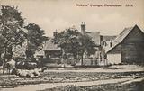 Dickens' Cottage, Hampstead, 1869