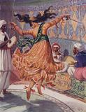 Illustration for Ali Baba and the Forty Thieves