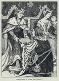 Caxton presenting his first book to King Edward IV