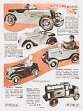 Page from Hamleys Toy Shop catalogue, 1937