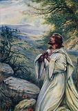 Jesus was praying