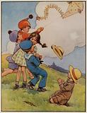 """Early 20th century childhood: """"Hold tight!"""""""