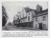 """""""Advertised"""" by Charles Dickens, the King's Head, Chigwell"""