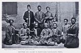 Prisoners and Jailors in Prison-Yard, Nar-ha-band, Persia