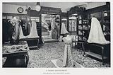 A Robes Department, Peter Robinson, Ltd, Oxford Street, London