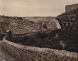 Jerusalem, View of the Valley of the Kidron