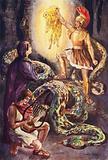 Ancient Greece: Jason, Medea, and Orpheus with the Golden Fleece