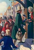 Illustration for John Halifax Gentleman by Dinah Maria Mulock
