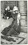 Illustration for The Cloister and The Hearth by Charles Reade