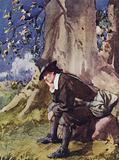 Illustration for The Compleat Angler by Izaak Walton