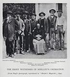 The Eight Witnesses of Shelley's Cremation