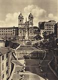 Roma: Chiesa della Trinita dei Monti