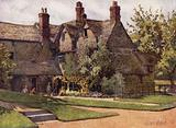Oxford: The Cottages, Trinity College