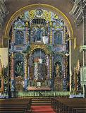 The Golden Altar in San Jose Church, Avenue A, Panama City