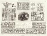 Ancient Assyria. Illustration for Bilder-Atlas.