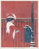 Coles Phillips Girl, Between You and Me and the Post