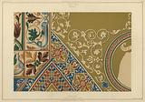 Mosaic, ceiling of the sacristy of St Mark's Basilica, Venice, Italy